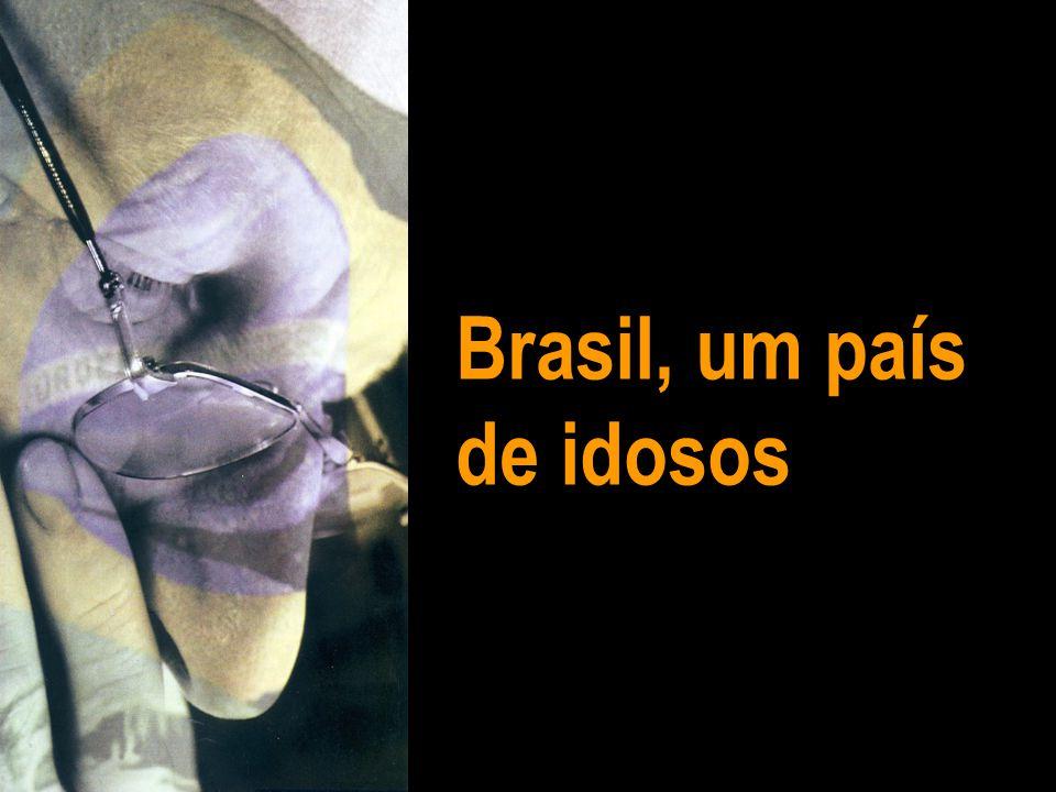 Brasil, um país de idosos
