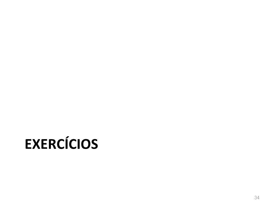 EXERCÍCIOS 34