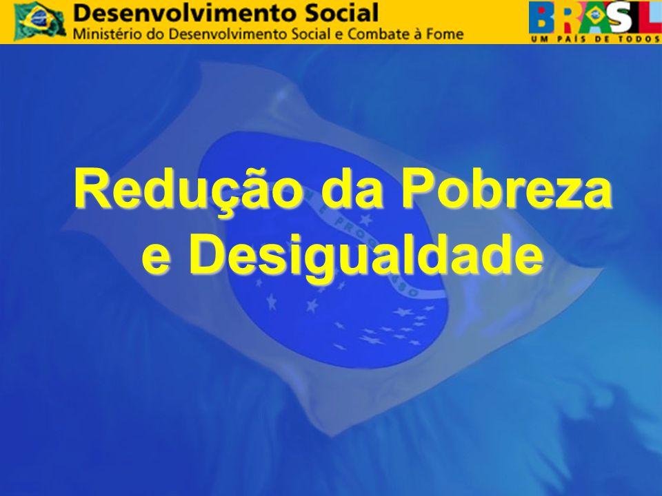 Redução da Pobreza e Desigualdade