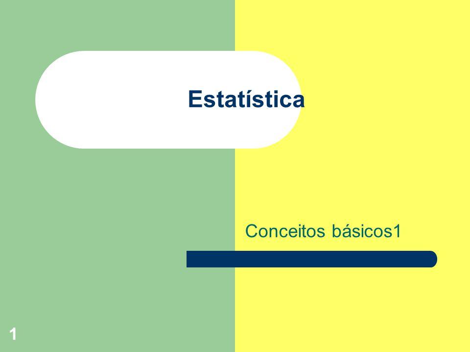 2 Estatística definição Estatística é um conjunto de métodos quantitativos que serve para estudar os fenômenos coletivos.