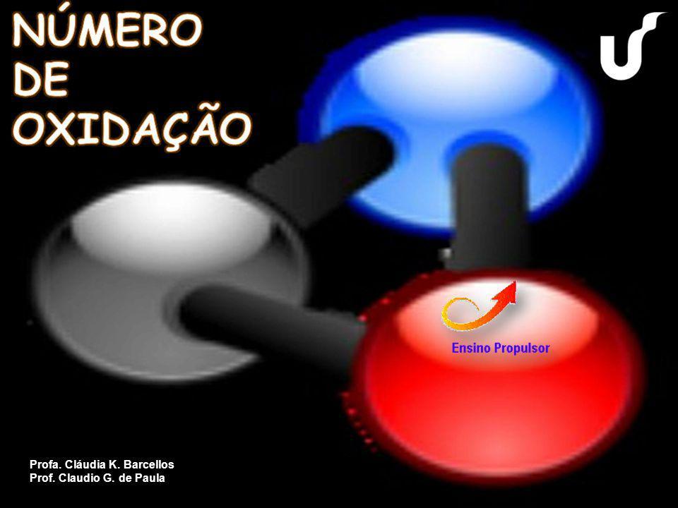 Número de Oxidação (Nox) indica o número de elétrons que um átomo ou íon perde ou ganha para adquirir estabilidade química.