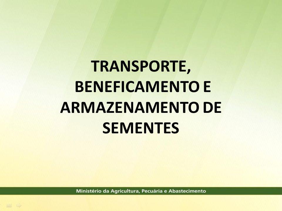 PRAZO PARA A TRANSFERÊNCIA ATÉ 180 DIAS APÓS A COLHEITA