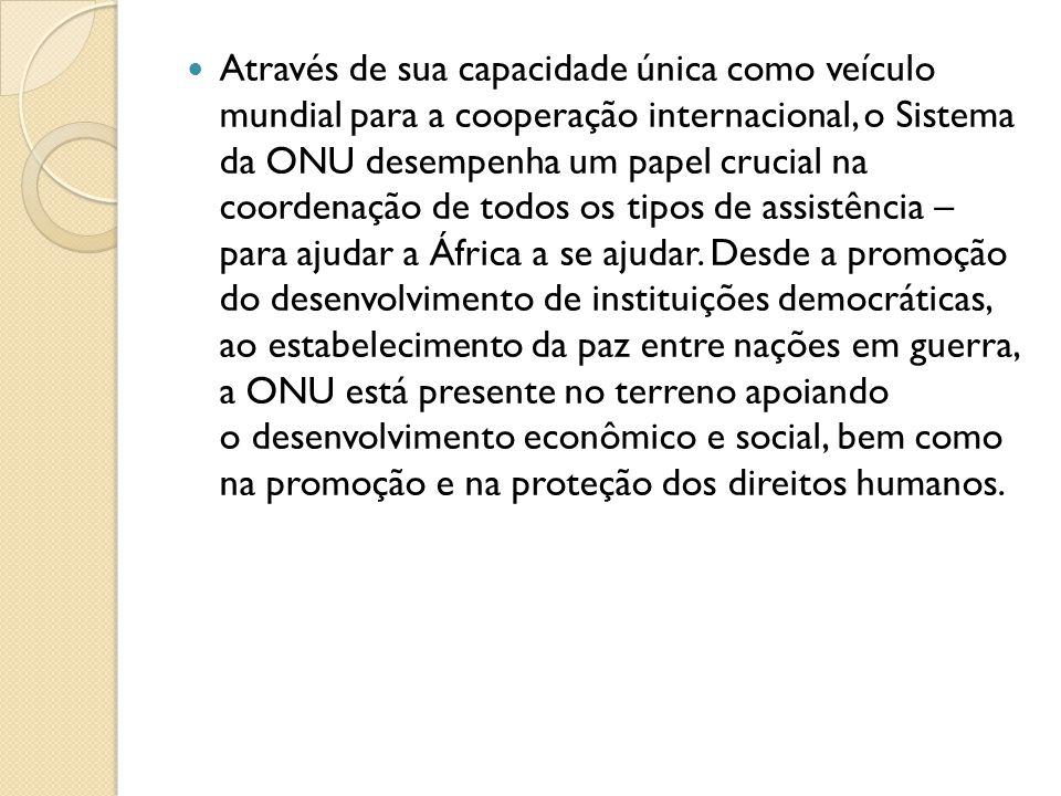 Bibliografia http://www.onu.org.br/a-onu-em-acao/a- onu-e-a-africa/ http://www.onu.org.br/a-onu-em-acao/a- onu-e-a-africa/ http://www.onu.org.br/sete-paises-da- africa-subsaariana-reduzem-em-mais-de- 50-a-infeccao-infantil-por-hiv-diz-unaids/ http://www.onu.org.br/sete-paises-da- africa-subsaariana-reduzem-em-mais-de- 50-a-infeccao-infantil-por-hiv-diz-unaids/ Livro de Geografia