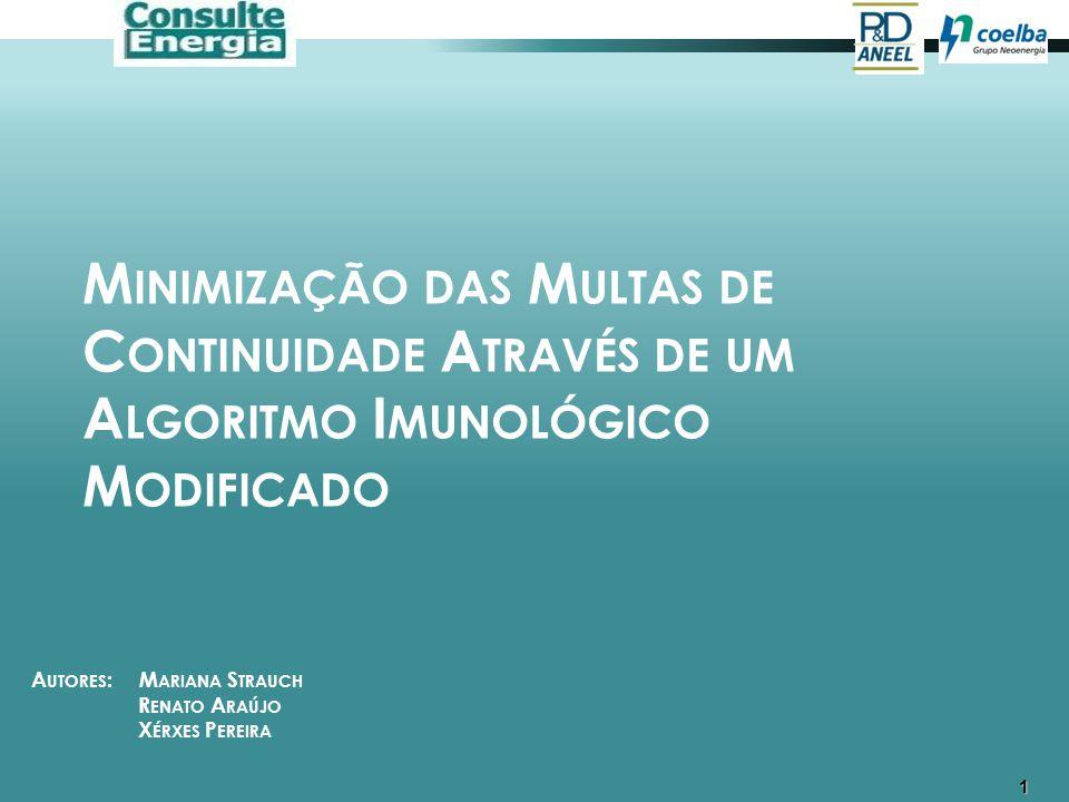 2 CONTEXTUALIZAÇÃO O modelo brasileiro de regulação incentiva a melhoria dos índices de continuidade, estabelecendo metas anuais decrescentes para os conjuntos de consumidores.