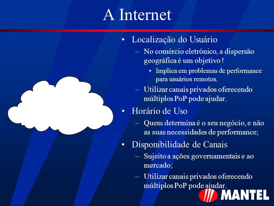 A Internet Localização do Usuário –No comércio eletrônico, a dispersão geográfica é um objetivo .
