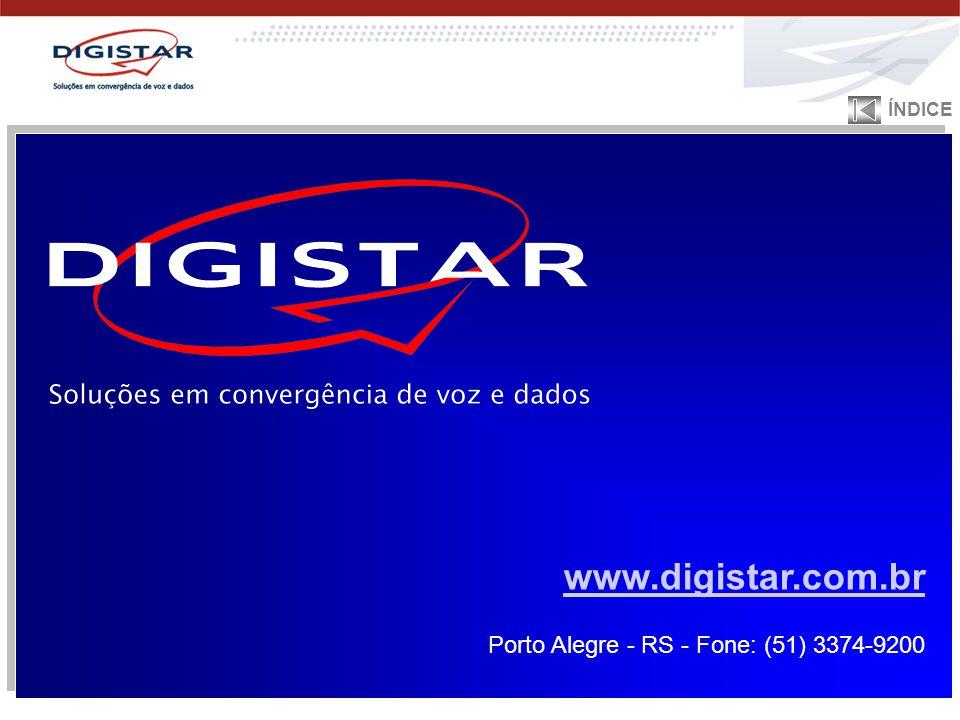 www.digistar.com.br Porto Alegre - RS - Fone: (51) 3374-9200 www.digistar.com.br Porto Alegre - RS - Fone: (51) 3374-9200 ÍNDICE
