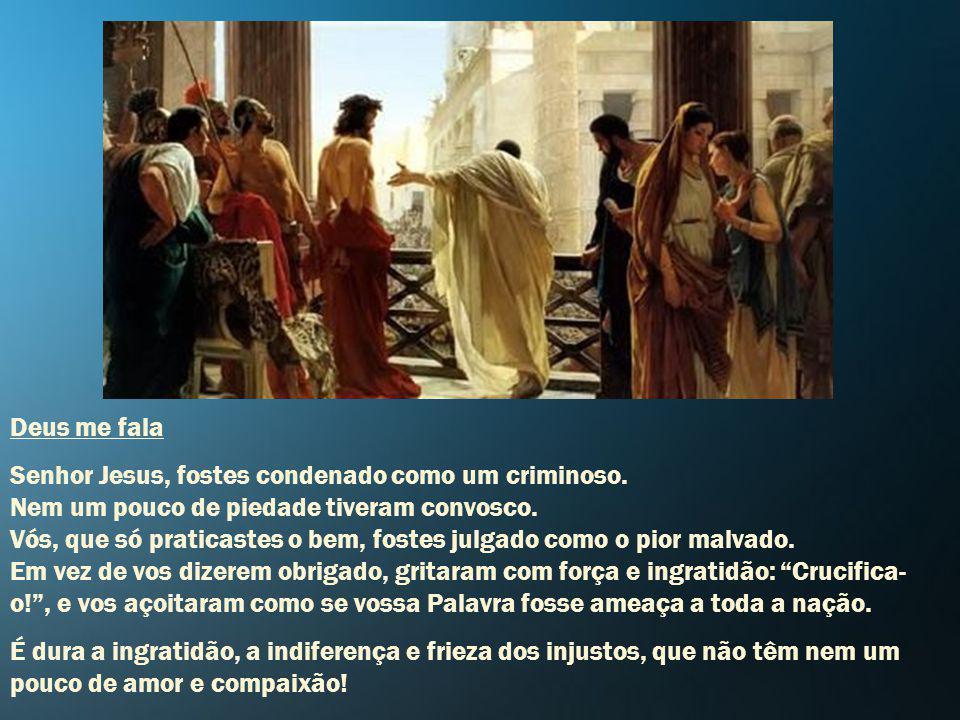 Guiai-nos, Maria, no caminho redentor. Clamamos a vós! Da vida sois fiel defensora. Dos justos sois Mãe consoladora. Rogai por nós! Mãe Consoladora do