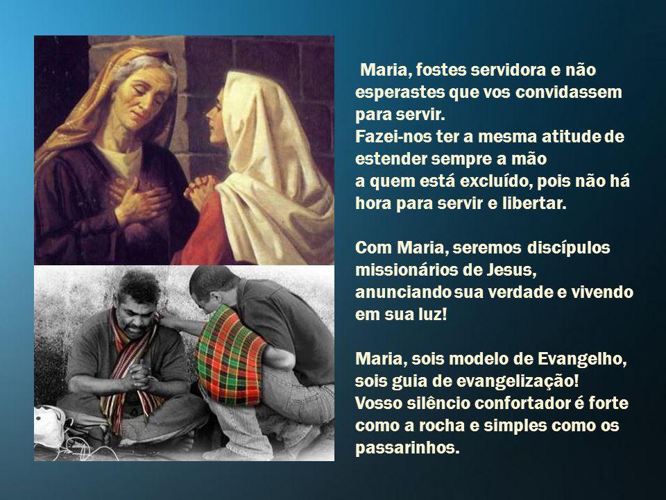 Por Maria, a Jesus! Maria, quem poderá nos separar do amor de vosso Filho Jesus? Nem a tribulação, nem a dor, nem a morte, nada tem força maior que se
