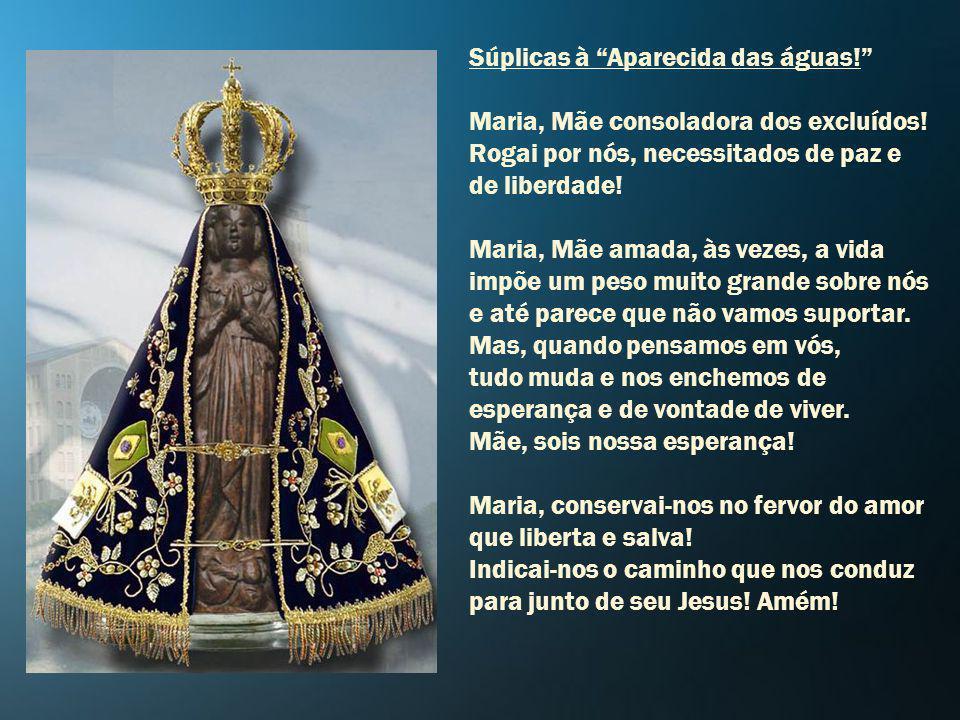 Maria, fazei-nos proclamar o Evangelho libertador, pois o mundo precisa ouvir o que nos diz o Senhor. Vinde, Jesus, Pão Eucarístico, Pão da eternidade