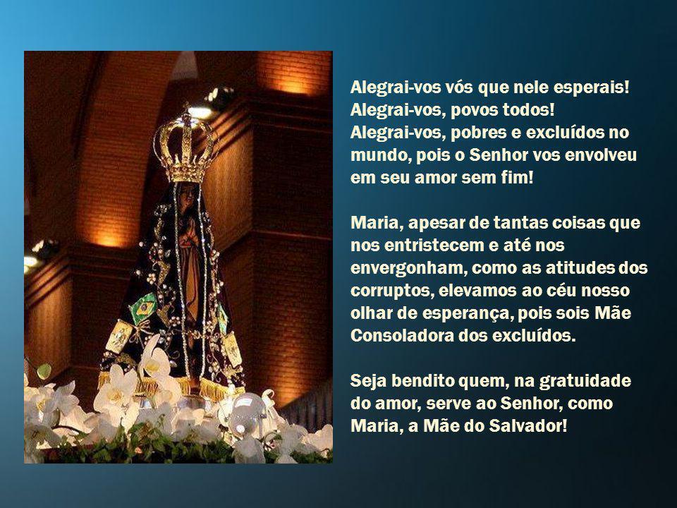Maria vem ao nosso encontro A hora de Deus ressoa por todos os cantos e recantos. Com Maria, proclamamos a grandeza do Senhor, que voltou seu olhar mi