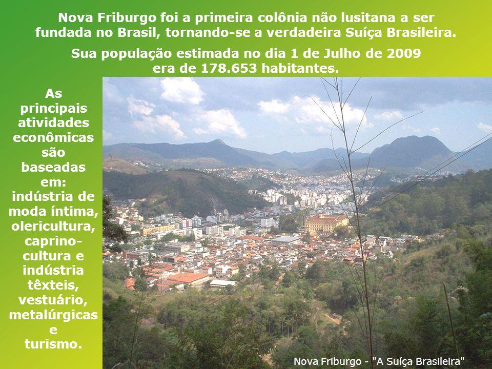 A região era conhecida pelo seu clima ameno e relevo acidentado, o mais semelhante que poderia haver no Rio de Janeiro com a Suíça. Muitos dos imigran