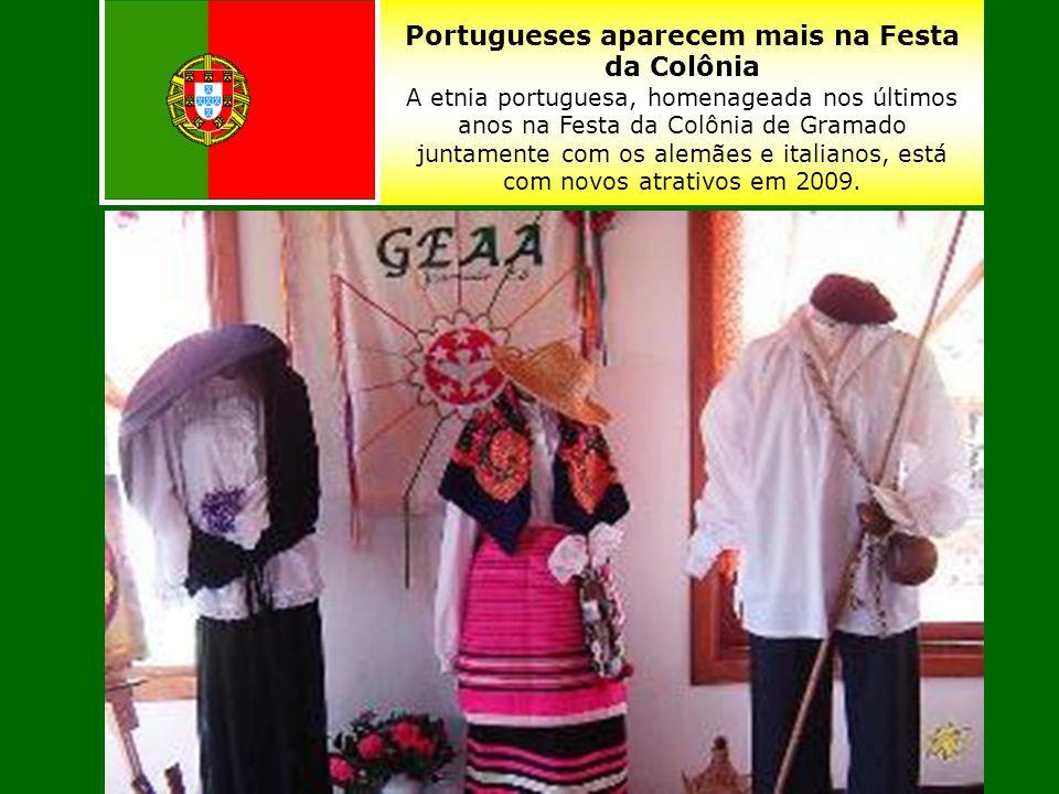 Uma festa onde se misturam as colônias italiana, alemã e açoriana- portuguêsa.