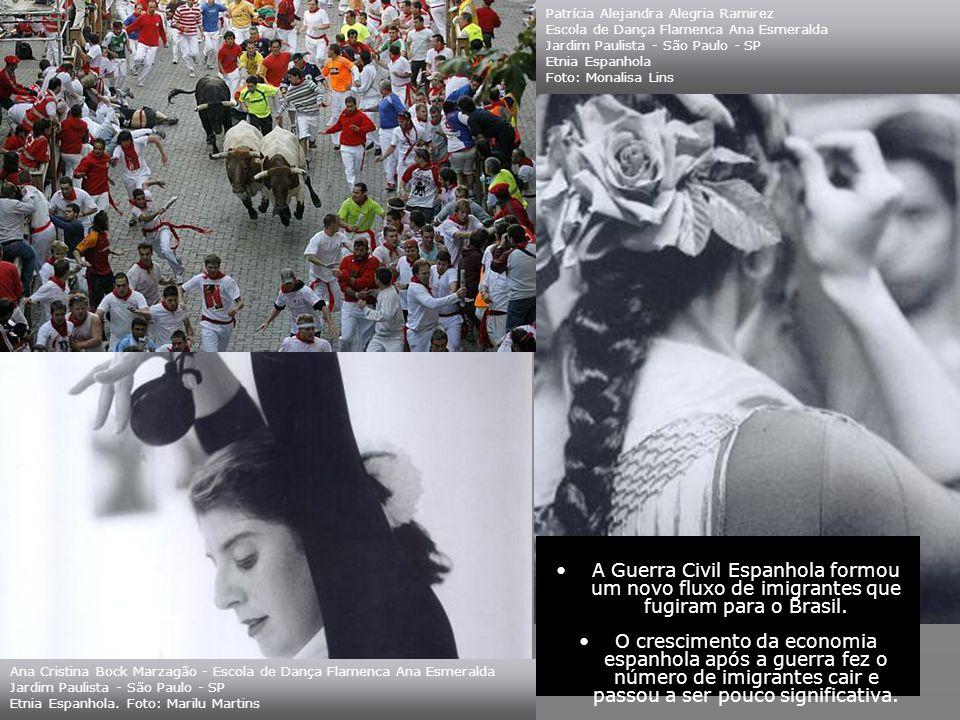 No começo do século XX passaram a predominar os andaluzes. Com a decadência da imigração italiana no Brasil, os espanhóis foram atraídos aos milhares
