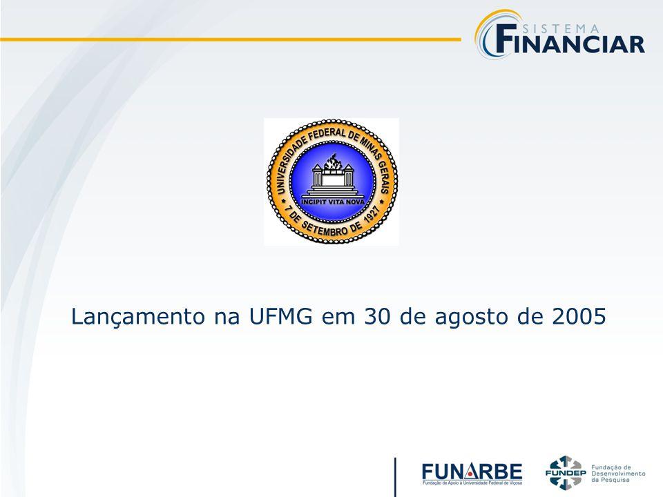 Lançamento na UFMG em 30 de agosto de 2005