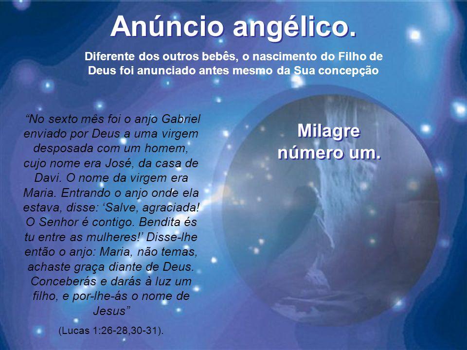 Anúncio angélico.