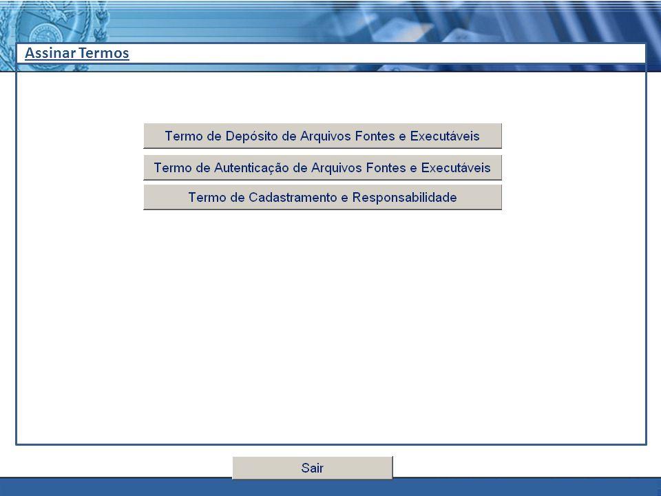 PLONE - 2007 Assinar Termos