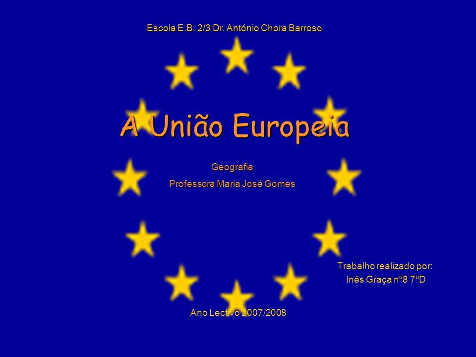 A Bandeira Esta bandeira é símbolo não só da União Europeia, mas também da unidade e da identidade da Europa em sentido geral.