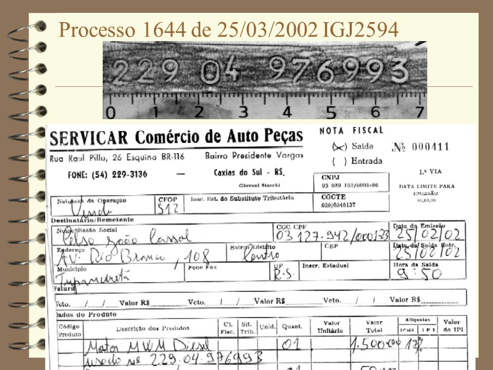 Processo 1921 de 29/05/2002 CHY8999