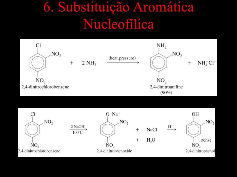 => 6. Substituição Aromática Nucleofílica