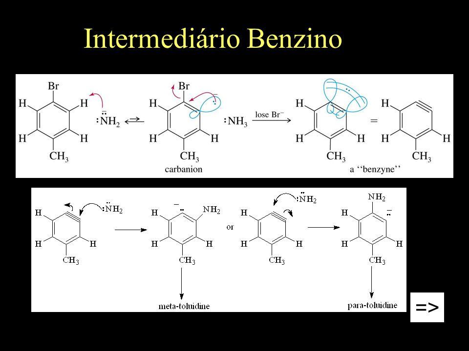 Intermediário Benzino =>