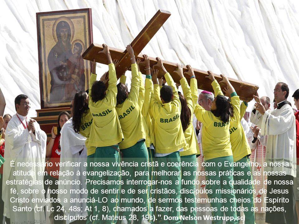 Assim sendo, a dimensão missionária deve ser um compromisso assumido com ardor e amor por todos os fiéis cristãos, deve impregnar todas as pastorais e