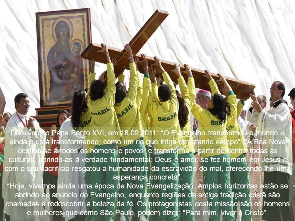 É necessário verificar a nossa vivência cristã e coerência com o Evangelho, a nossa atitude em relação à evangelização, para melhorar as nossas prátic