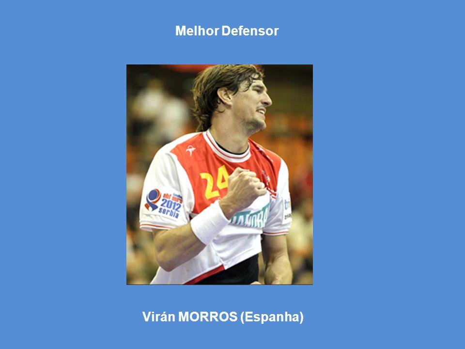 Virán MORROS (Espanha) Melhor Defensor