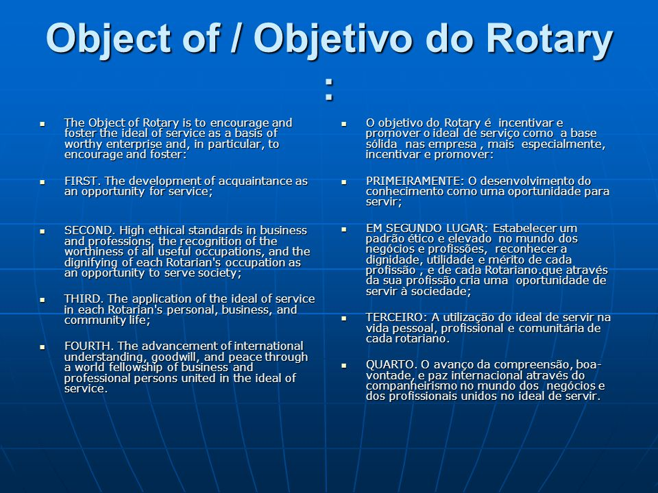 What can we do/ O que podemos fazer.The potential projects, once you get into it, are many.