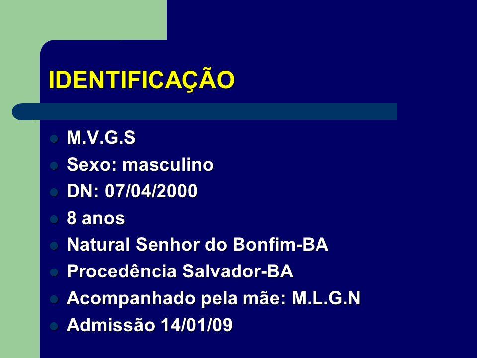 Escola Superior de Ciências da Saúde Internato em Pediatria – HRAS/SES/DF CASO CLÍNICO: LINFOADENOPATIA CERVICAL João Victor Rolim Lucas Mazoni Coordenador(a): Luciana Sugai www.paulomargotto.com.br Brasília,31 de janeiro de 2009