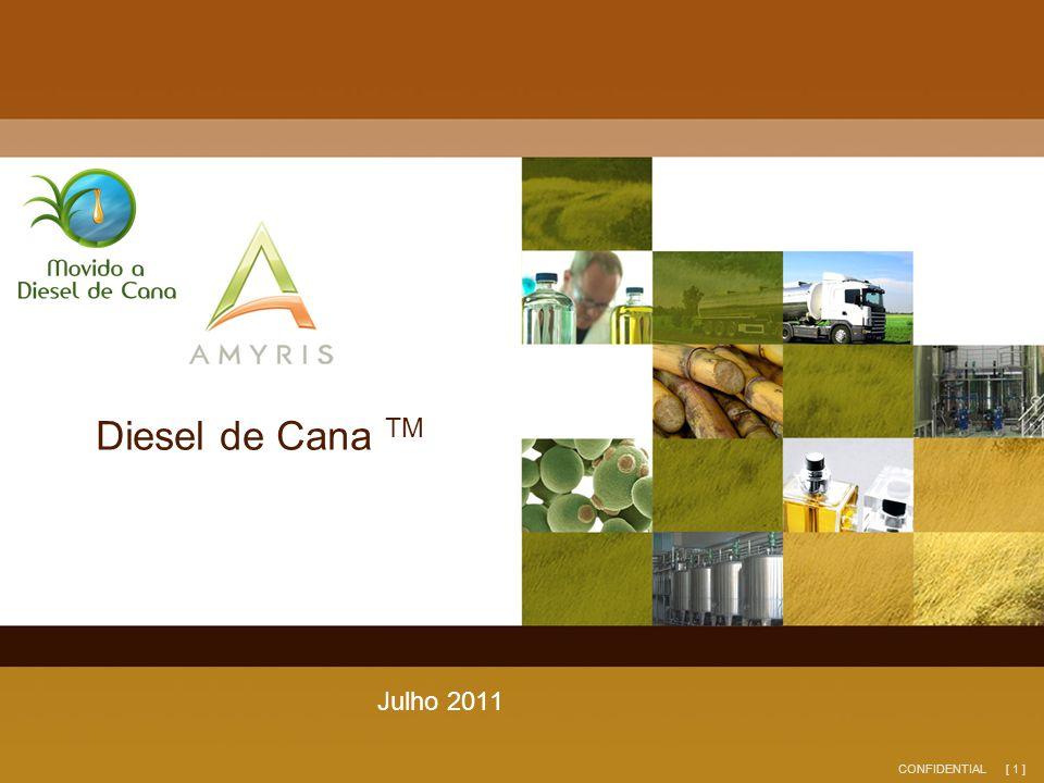 [ 1 ]CONFIDENTIAL Diesel de Cana TM Julho 2011