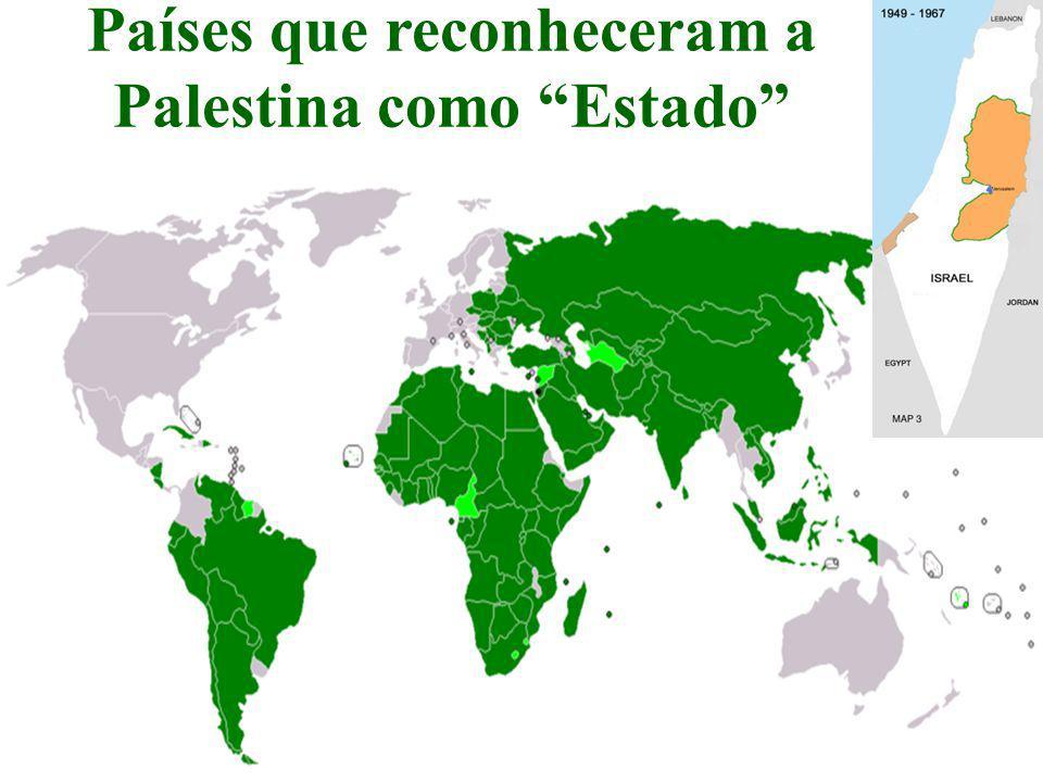"""Países que reconheceram a Palestina como """"Estado"""" Luiz Albuquerque33"""