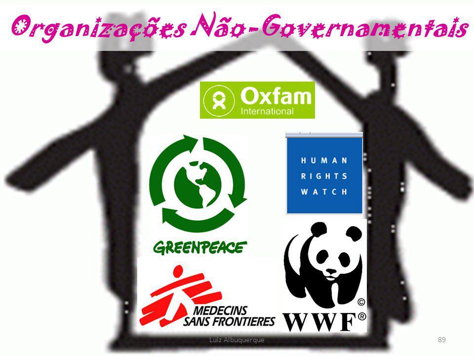 89 Organizações Não-Governamentais Luiz Albuquerque