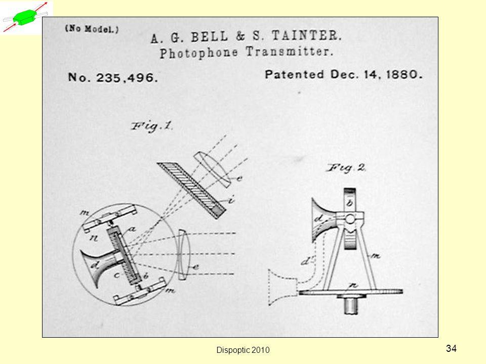 Dispoptic 2010 33 Graham Bell 1880 - fotofone primeira transmissão de voz, através de luz não guiada