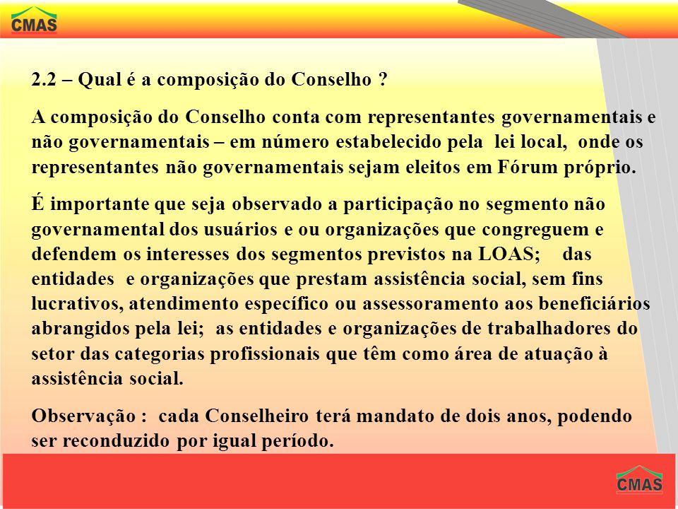O PROCESSO DA DESCENTRALIZAÇÃO 1 – Quais são os requisitos do processo de descentralização ? Instituição e funcionamento de Conselhos de Assistência S