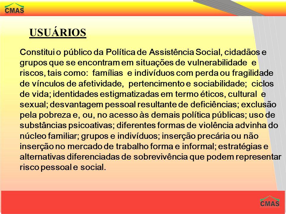 OBJETIVOS As diretrizes seguem de forma integrada às políticas setoriais, considerando as desigualdades socioterritoriais, visando seu enfrentamento,