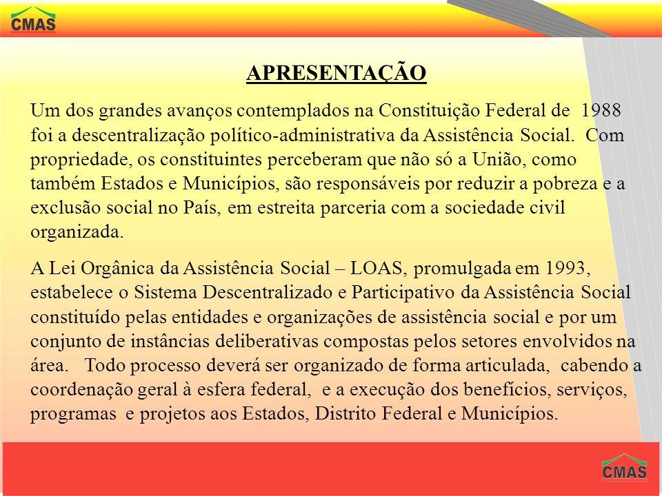 PRINCÍPIOS A PNAS tem consonância direta com o artigo 4º da LOAS., rege-se pelos seguintes princípios democráticos.