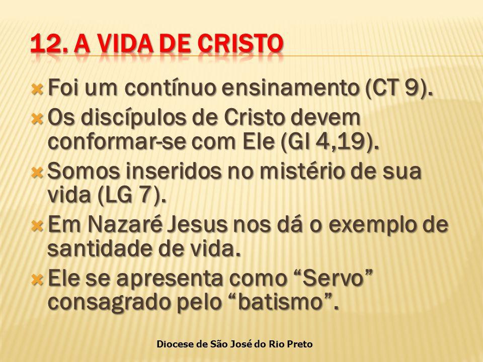Diocese de São José do Rio Preto  Foi um contínuo ensinamento (CT 9).