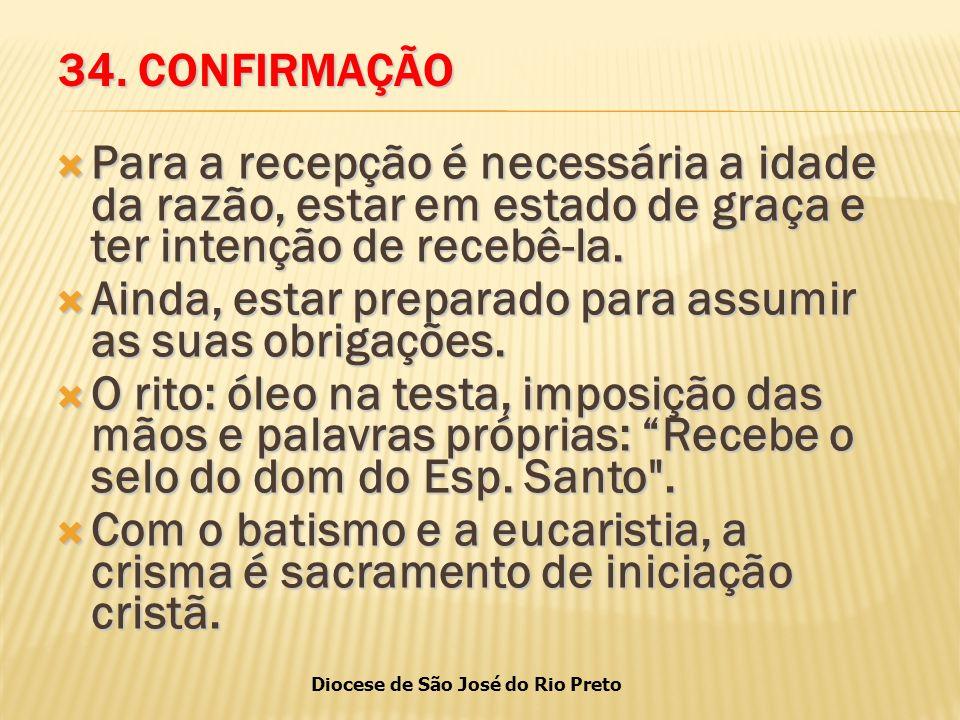 Diocese de São José do Rio Preto 34.