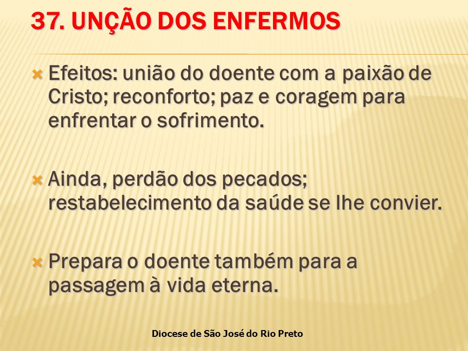 Diocese de São José do Rio Preto 37.