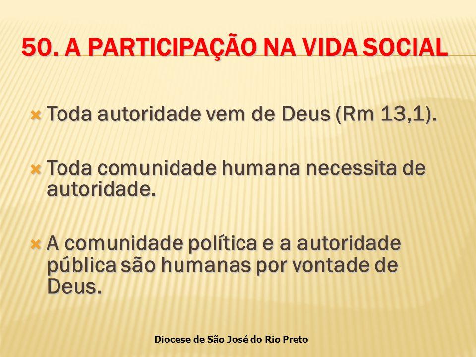 Diocese de São José do Rio Preto 50.