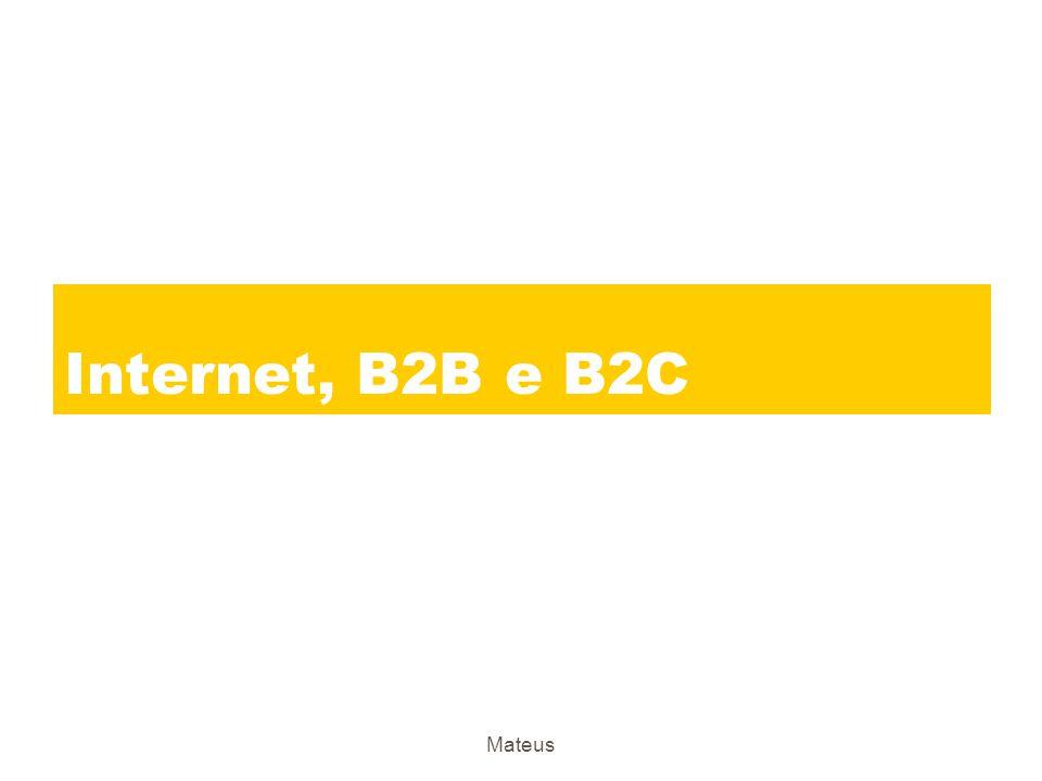Mateus A Internet e a Comunicação com os Clientes zAtender às necessidades dos clientes zO papel da equipe de vendas zPromoção