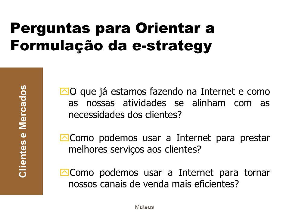 Mateus Definindo o Objetivo: Como a Internet é vista pelo profissional de Marketing B2B.