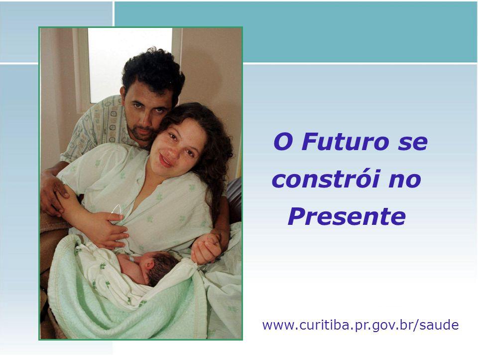 O Futuro se constrói no Presente www.curitiba.pr.gov.br/saude
