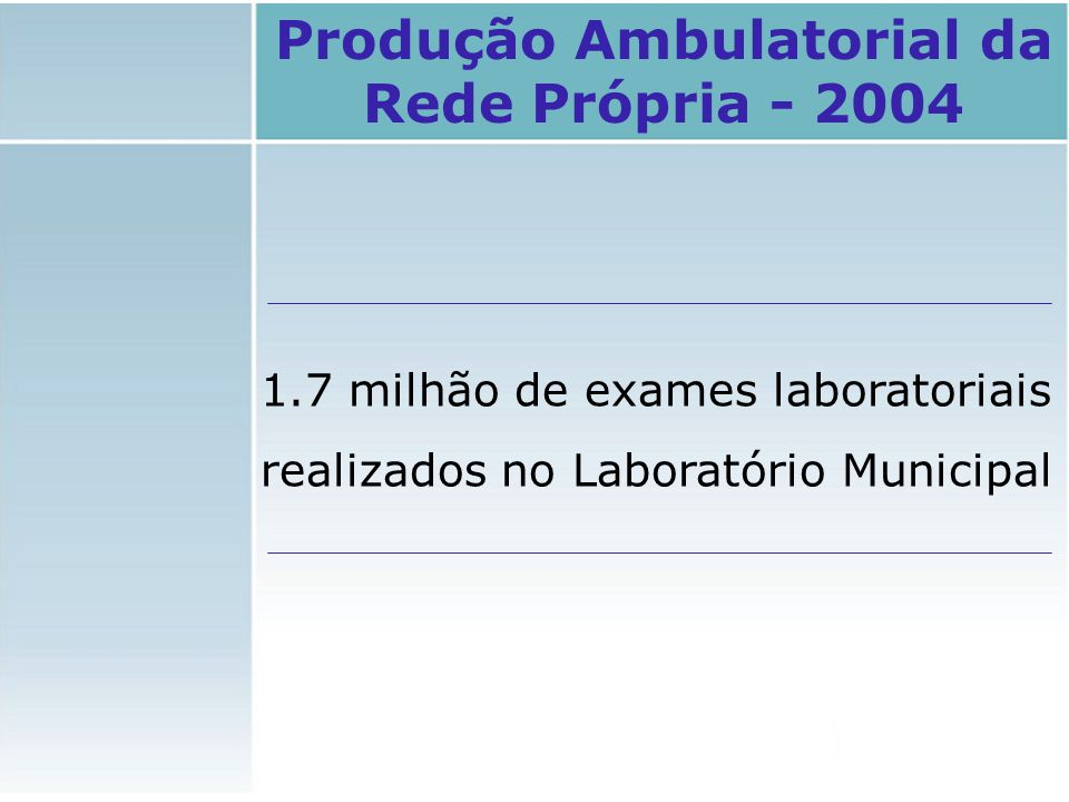 29 credenciados SUS 58 hospitais 5 públicos 4 universitários (27 Hospitais Gerais/ 25 Hospitais Especializados/ 2 P.S.