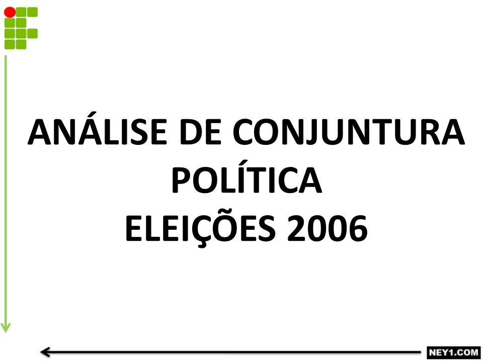 ANÁLISE DE CONJUNTURA POLÍTICA ELEIÇÕES 2006