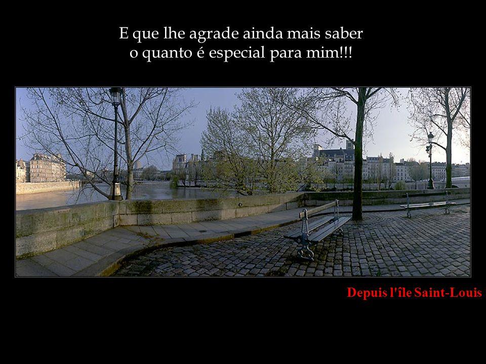 Rue du Quai de Bourbon, Ile de la Cité Espero, de coração, que lhe tenha agradado muito!