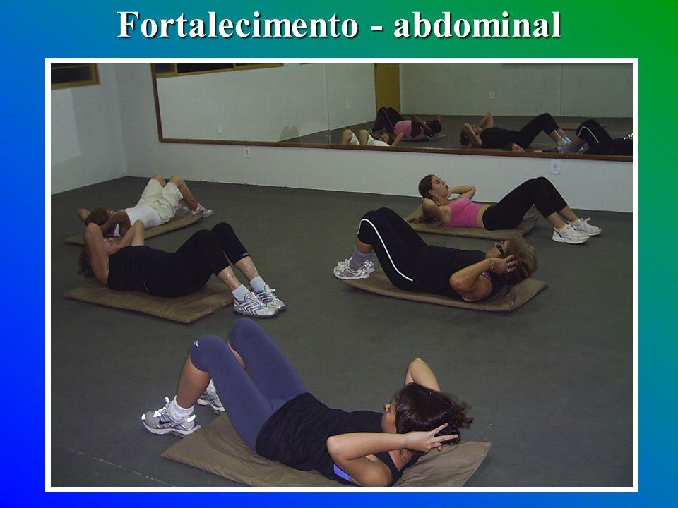 Fortalecimento - abdominal