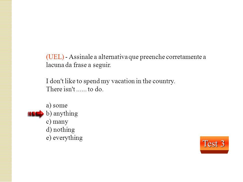 (VUNESP) (VUNESP) - Assinale a alternativa correta. Those organisms pose 1 ______ danger to human life. 1 pose – apresenta a) any b) none c) no d) not