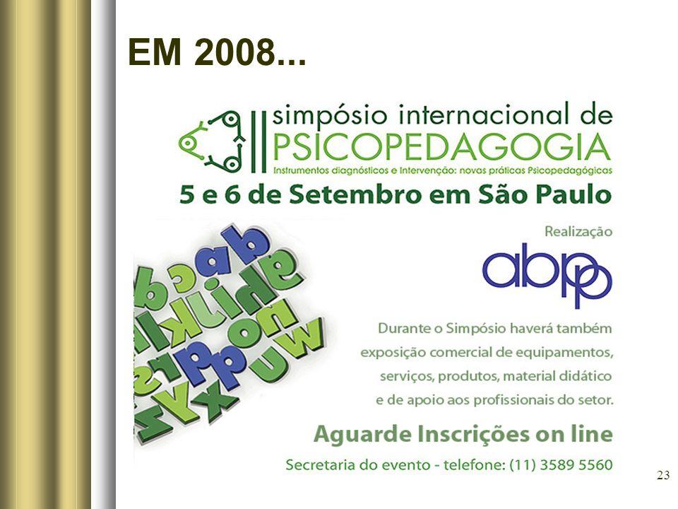 23 EM 2008...