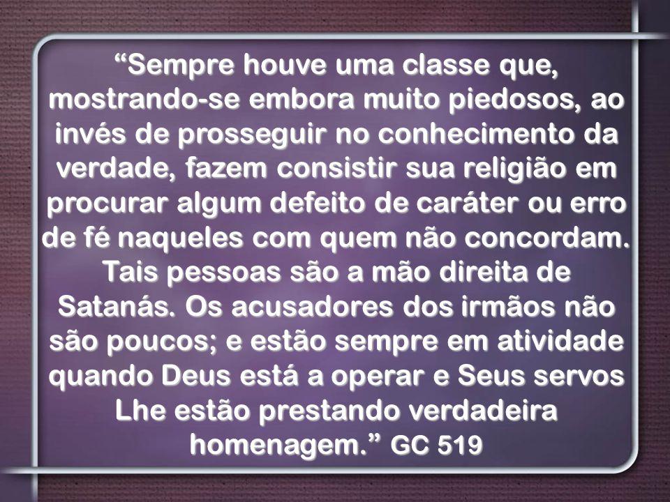 """""""Sempre houve uma classe que, mostrando-se embora muito piedosos, ao invés de prosseguir no conhecimento da verdade, fazem consistir sua religião em p"""